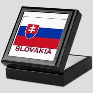 Slovakia Flag Stuff Keepsake Box